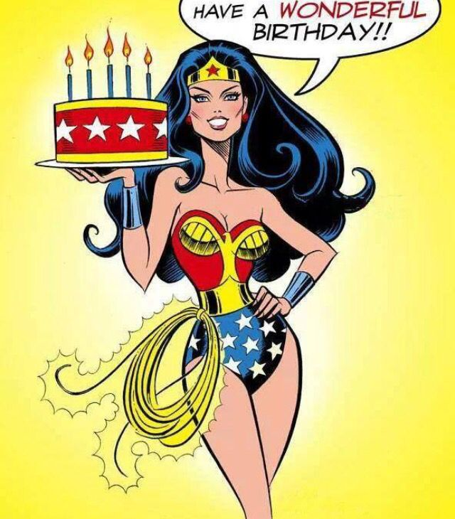 A Wonder Woman Birthday