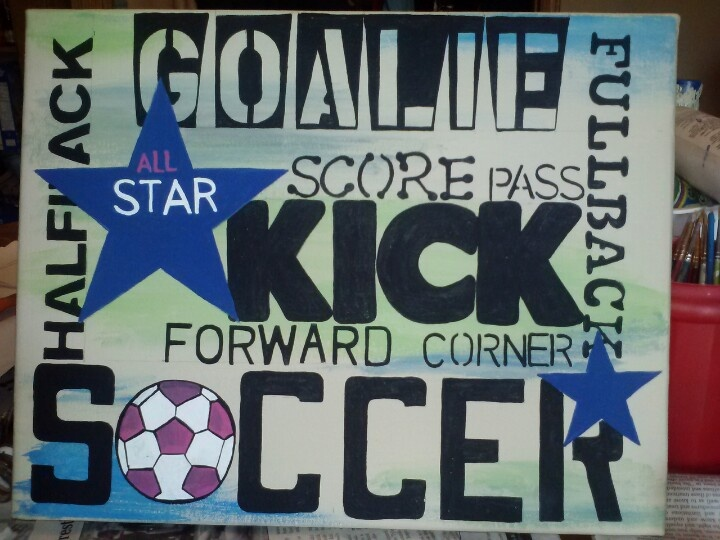 soccer picture for a girls room tammys homemade love