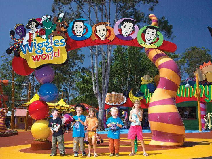 Wiggles World at Dreamworld, Australia