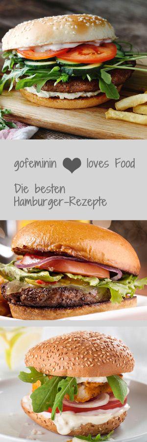 Her mit dem Burger! Hier gibt's die besten Hamburger-Rezepte: http://www.gofeminin.de/kochen-backen/hamburger-rezept-s1459365.html  #hamburger-rezepte