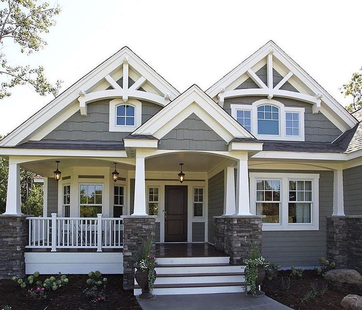 25 best ideas about exterior house colors on pinterest for Painting house exterior ideas