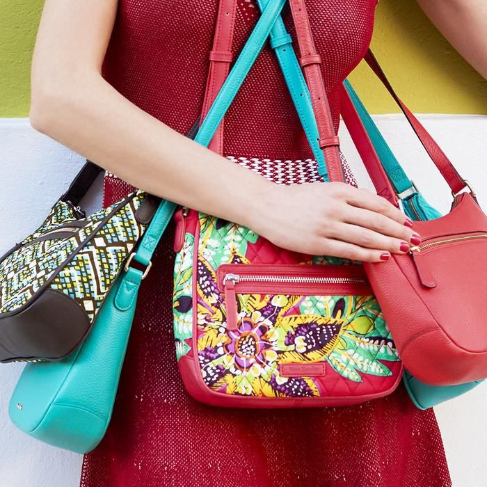 f1e5e2f07b Enjoy effortless style with versatile crossbody bags for women by Vera  Bradley. Discover our crossbody purses in solid colors and bold patterns.