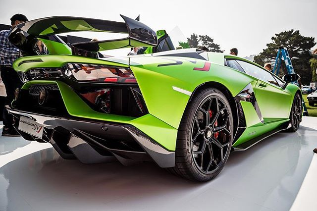 The Lamborghini Aventador Svj Will Arrive In South Africa In The