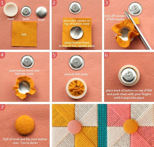 needlepoint_purse_step3a.jpg: Crafts Ideas, Felt Botton, Mellu Crafts, Fabric Button, Needle Point, Needlepoint Purse Step3A Jpg, Handmade Crafts, Diy