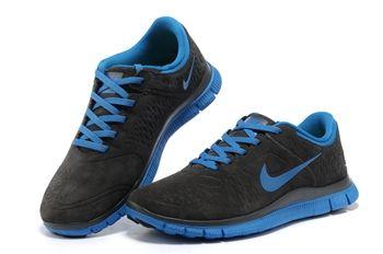 Nike Free 4.0 V2 For Men Shoes For Running Dark Gray Royalblue
