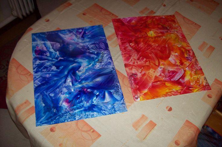 malování horkým voskem