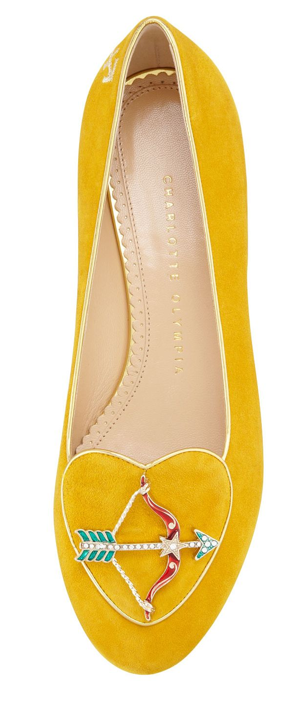 Serious star power - Charlotte Olympia's zodiac flats