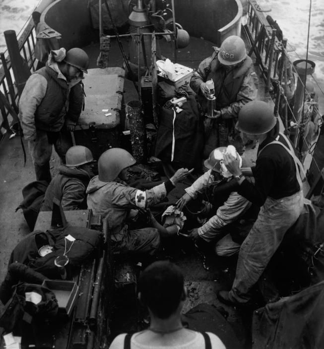 d day landing robert capa