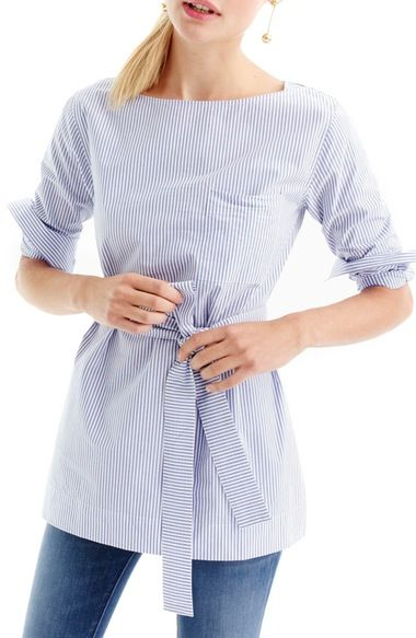 J.Crew Jackson Stripe Tunic (Regular & Petite) available at #Nordstrom