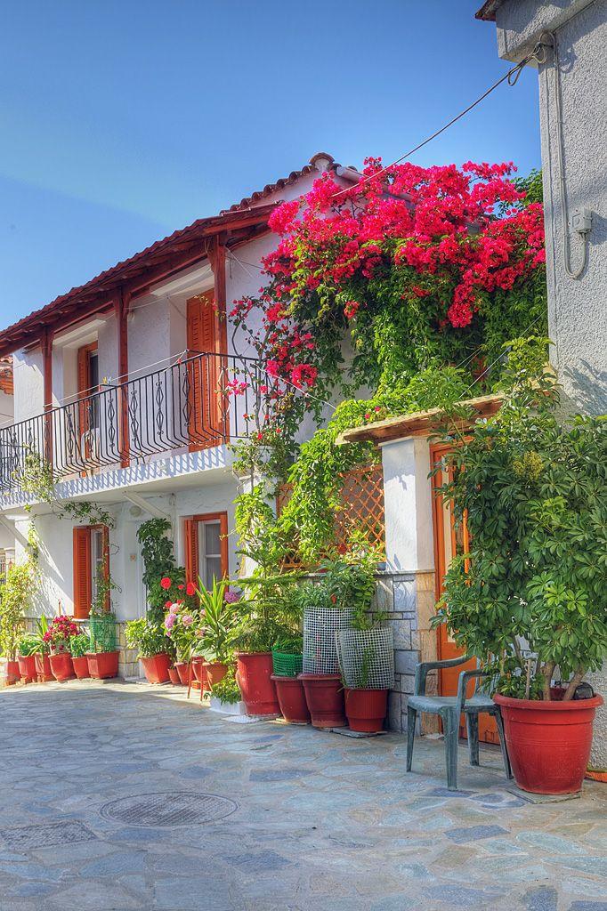 Flowerpot Villa, Skiathos, Greece