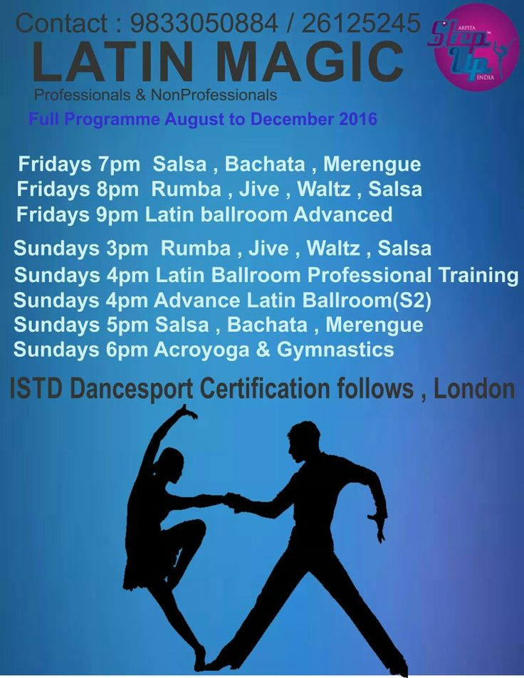 Yearly Memberships with Arpita Step Up Dance Academy #Events #Dancesportcertificationcourses (London) Registrations open 9833050884 / 26125245 Open for everyone with age group 16 years onwards #Salsa #Bachata #Jive #Rumba #Pasodoble #Waltz #Chacha #Samba #Foxtrot #Tango Come join us enjoy western dance.