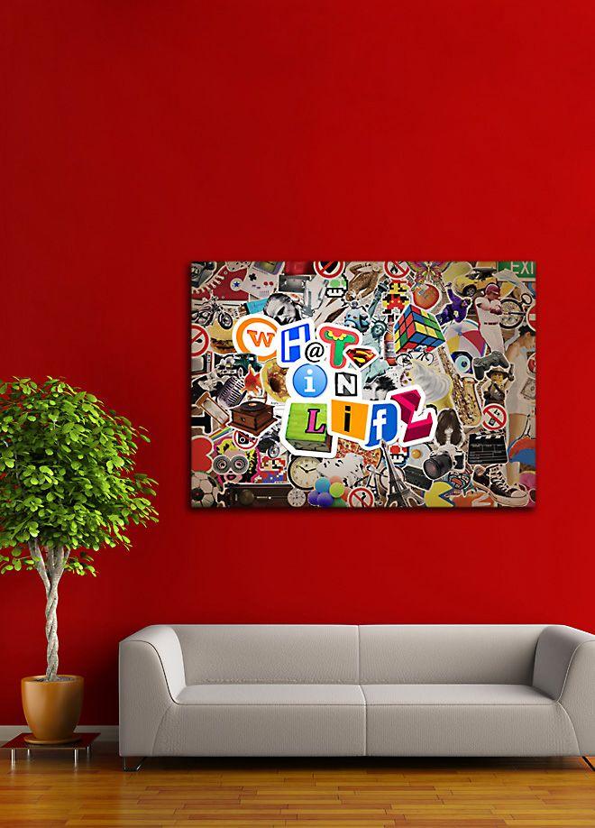 Whats in Life Tablo 140 x 100 cm Markafoni'de 310,00 TL yerine 139,99 TL! Satın almak için: http://www.markafoni.com/product/5291533/