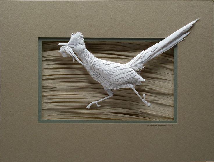 Бумажные скульптуры Кельвина Николса