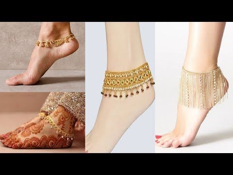 Beautiful Gold Anklet Designs Best Collection Of Gold Anklet And Payal