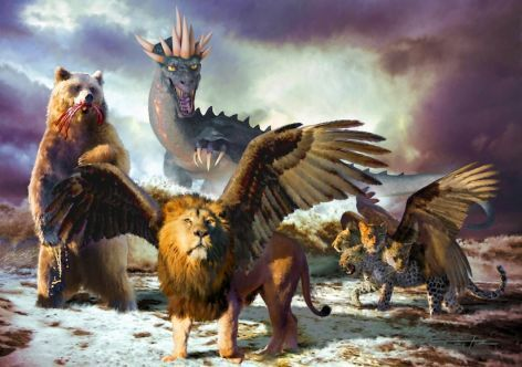 Daniel 7: Four Beasts and a Little Horn  Chapter 7 of Daniel describes four beasts coming up from the Mediterranean Sea. What did Daniel's vision represent, and what does it mean for us today?