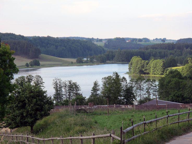 Łączyno. Poland - Kashubia - Kaszuby