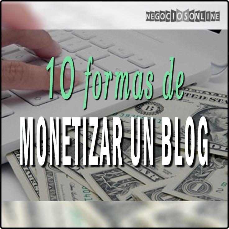Cómo monetizar un Blog >> http://www.expertosnegociosonline.com/como-monetizar-un-blog-y-como-ganar-dinero-con-tus-conocimientos/ #blog #tfb #internet #negocios #empresa  By @danielmcspain