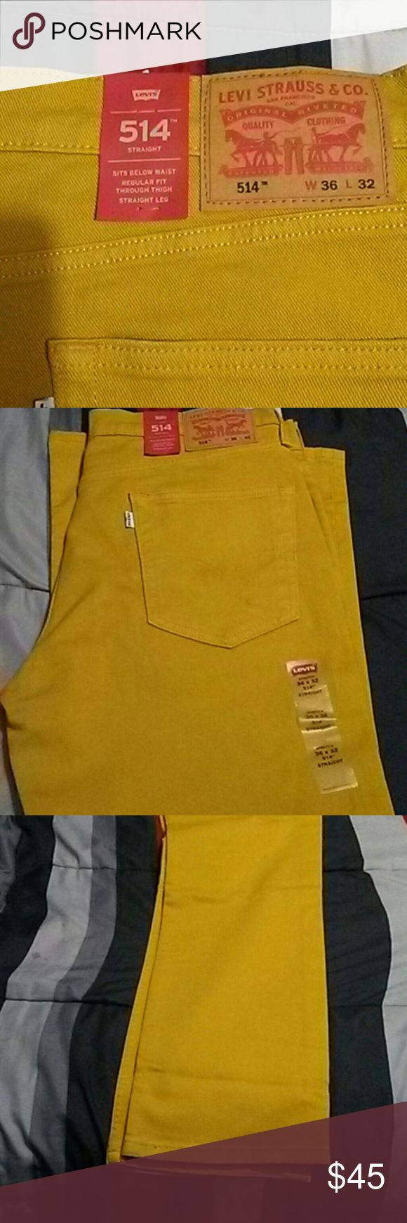 Levis 514 New Jeans Straight