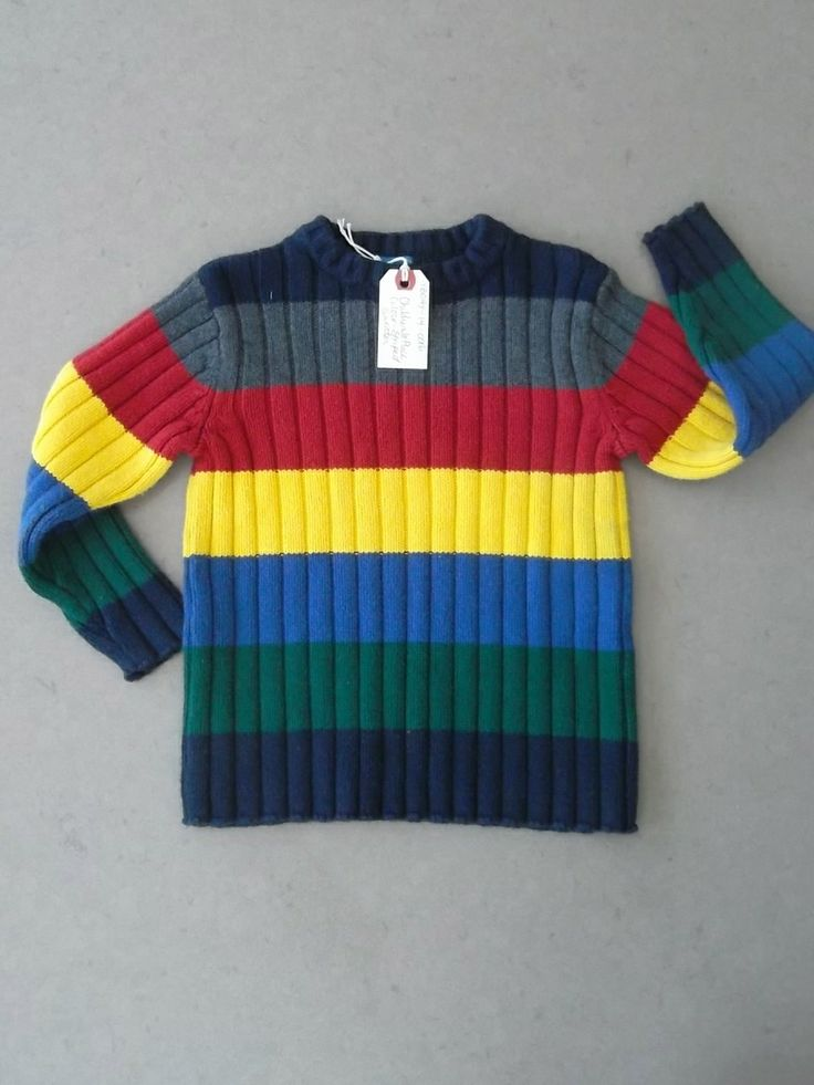 Sibling Alert & Outfit Alert too!  We're geniuses 2 times over on this item! (http://www.ecooutfittersonline.ca/childrens-place-striped-sweater-size-4/)