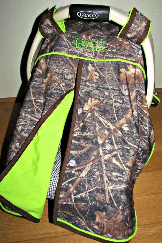 True Timber Camo and Lime Green Baby Boy by classykidscreations, $45.00