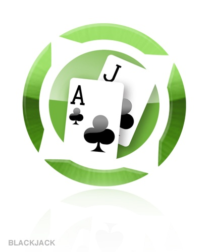 Logo for Blackjack (online game) @yazino