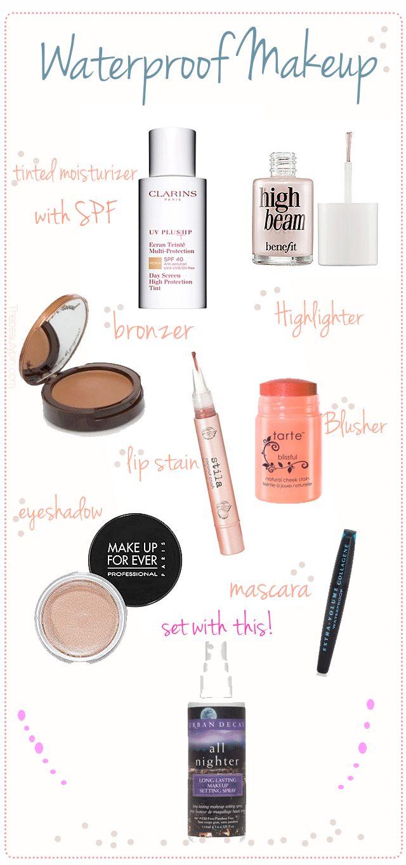 Waterproof Makeup to Wear All Year