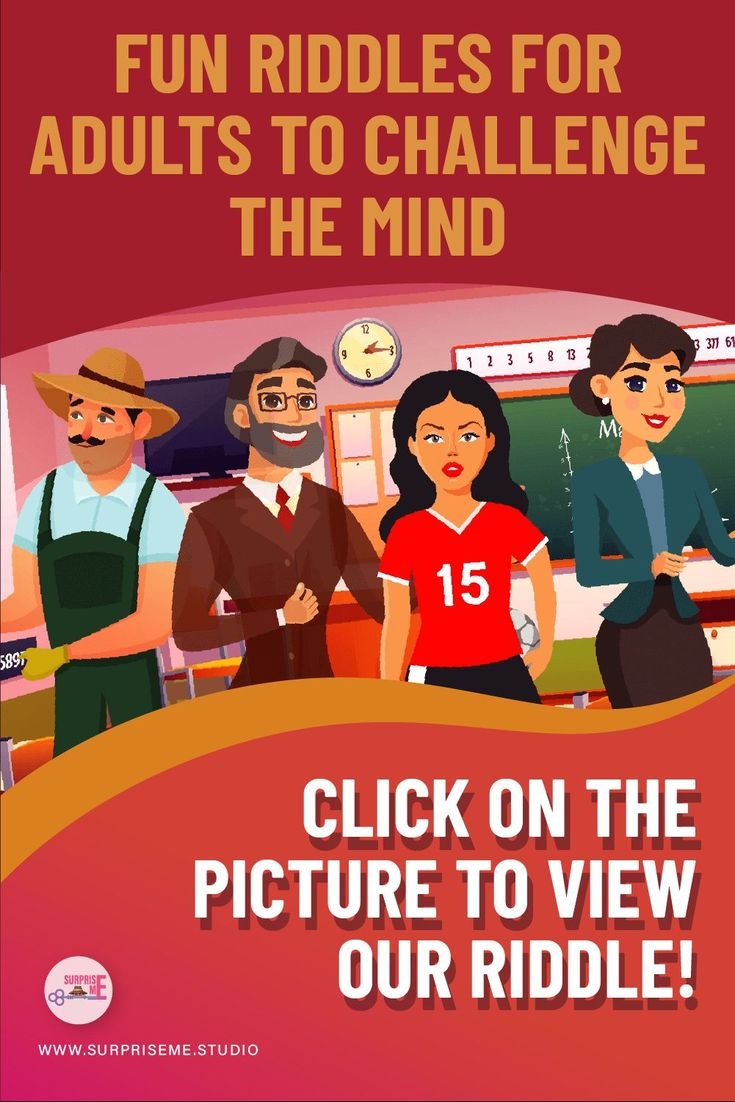 Fun Riddles for Adults to Challenge the Mind view our