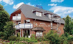 Frontansicht des AKZENT Hotel Zur Grünen Eiche in Bispingen-Behringen