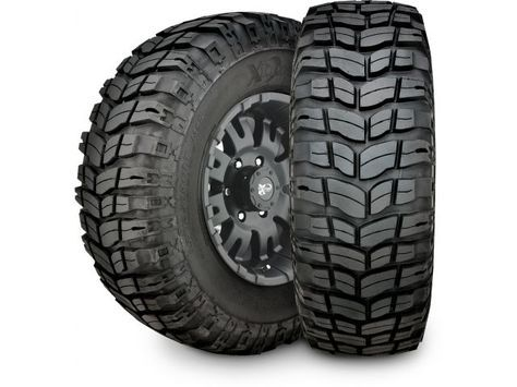 Since its introduction the Xterrain Radial Tire has been regarded as one of the most effective off road tires available for harsh terrain. Pro Comp's engineers love to use this tire when out off road testing suspension products because of its amazing performance and durability. It's advanced directional treat pattern is designed to provide maximum traction and control both on and off road. The tread design is also much quieter than other aggressive off-road tires.