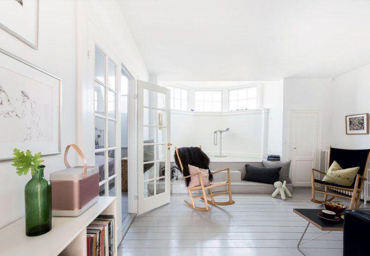 muebles de diseño estilo escandinavo decoración interiores decoración comedor decoración áticos blog decoración nórdica atico danés