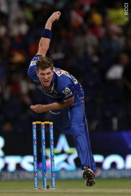 IPL 2014: Match 4, SRH v RR - James Faulkner of Rajasthan Royals during match 4 of the Pepsi Indian Premier League Season 7 between the Sunrisers Hyderabad and the Rajasthan Royals held at the Al Zayed Cricket Stadium, Abu Dhabi, United Arab Emirates on the 18th April 2014 Photo by Ron Gaunt / IPL / SPORTZPICS