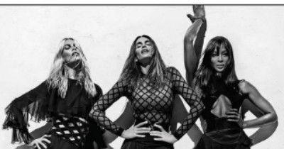 Клаудиа Шиффер, Синди Кроуфорд и Наоми Кэмпбелл стали лицами весенне-летней коллекции марки