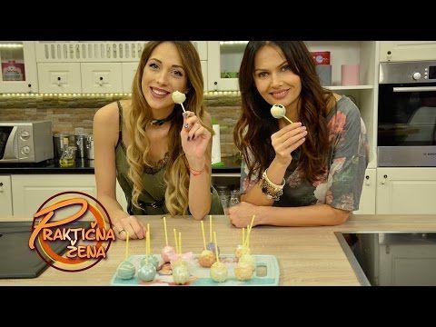 Praktična žena - Cake pops - YouTube