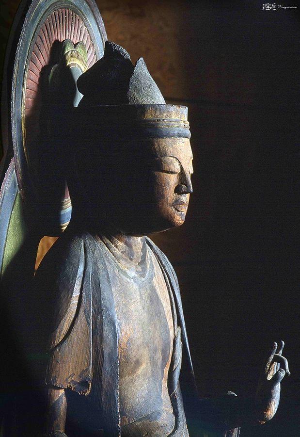 Japanese Important Cultural Property, Statue of Sho Kannon (Aryavalokitesvara) 木造聖観音立像(和歌山県清水町 吉祥寺)