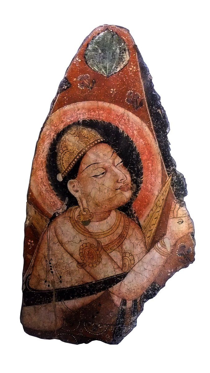 67th C Bodhisattva Or? (or Indra)  Wall Mural