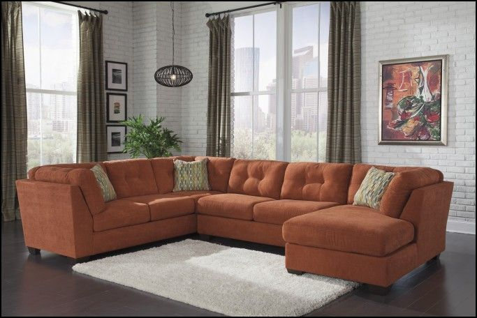 Rust Colored Couch
