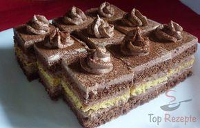 Leckere Schokoladenschnitte