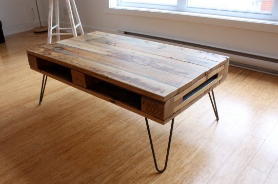 PALLET Coffee Table ⎮ Living room Furniture Table ...