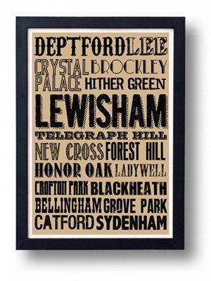 Lewisham Deptford Blackheath etc South London by indieprints