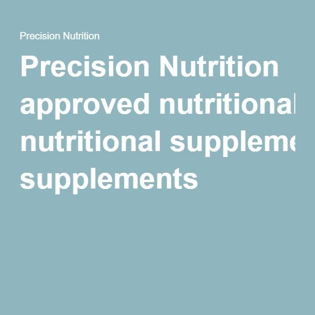 recipe: is precision nutrition worth it [32]