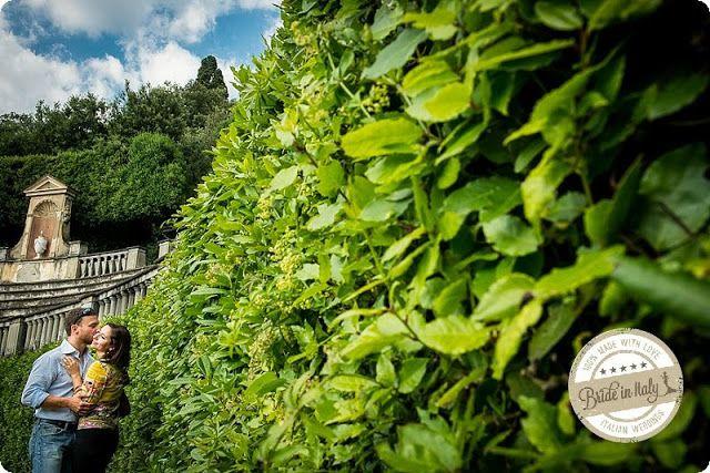 Bride in Italy: Engagement | Quattro passi nel Giardino di Boboli - Qualcosa di Blu