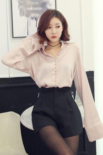 Summer dress hairstyles korean