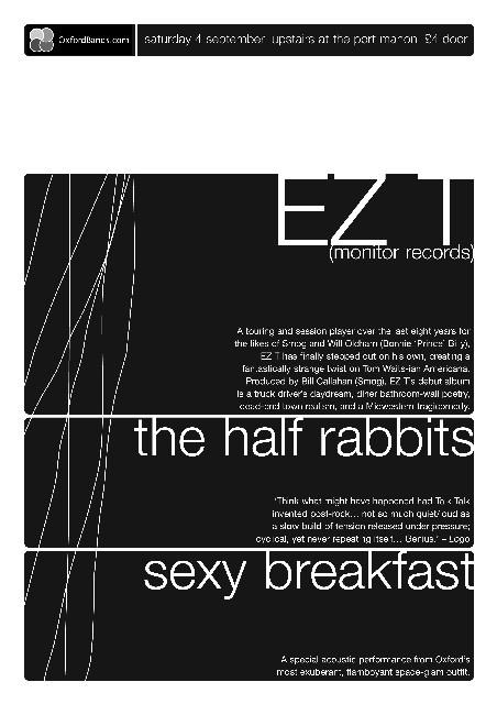 EZT and The Half Rabbits, 2004