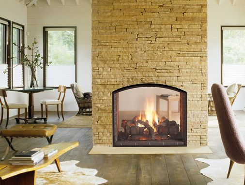 Heat Glo Escape See Through Gas Fireplace See Through Fireplaces Pinterest Fireplaces