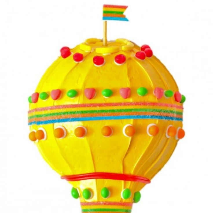 How to make a hot air balloon birthday cake with Runts - parenting.com