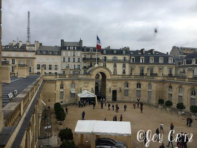 PEACE LOVE JOY : Palais de l'Elysée : Journées Européennes du Patrimoine 2016