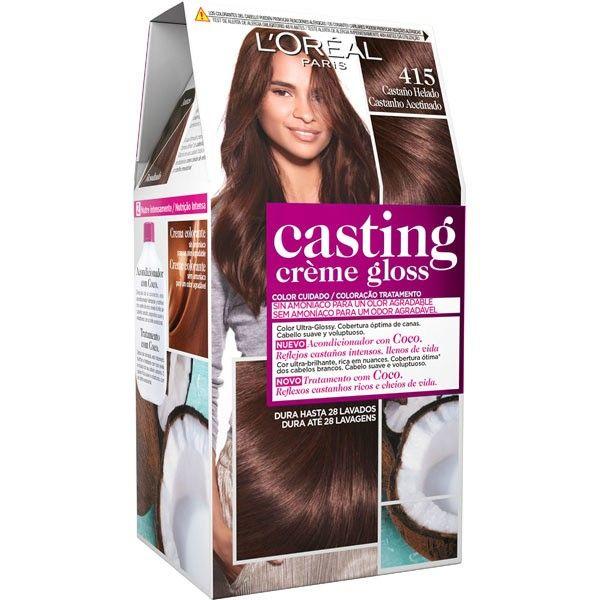 Castaño Helado Pelo 415 Casting Creme Gloss L Oreal Loreal Casting Creme Gloss Loreal Paris Loreal