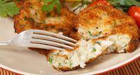 peixe bolinho garfo