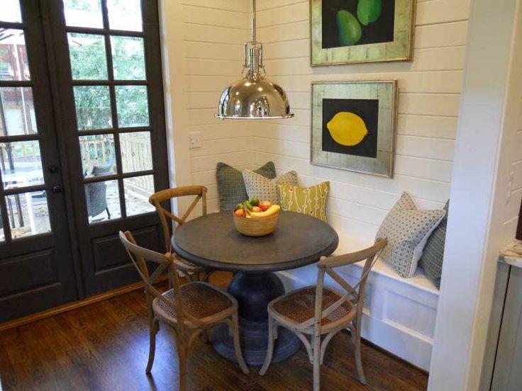 Best Breakfast Nooks Images On Pinterest Benches Kitchen - Craftsman bungalow kitchen breakfast nooks