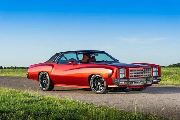 Wild 1977 Pro Touring Style Chevy Monte Carlo Chevy Monte Carlo